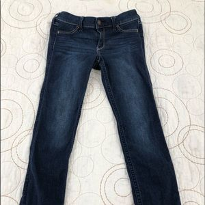 Dark washed hollister jeans